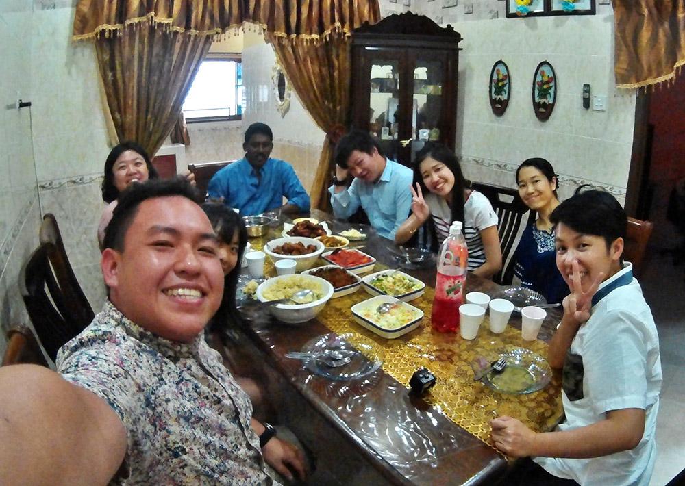 Deepavali Visiting at Johor Bahru